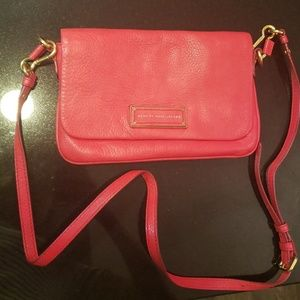 Marc by Marc Jacobs Leather Crossbody Flap Bag